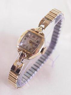 Blova ブローバー婦人用 アンティーク 手巻 中古 3ヶ月間保証 時計 Watch Antique ¥8000yen 〆05月27日