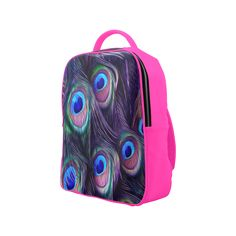 Peacock Feather Popular Backpack. FREE Shipping. FREE Returns. #lbackpacks #peacock