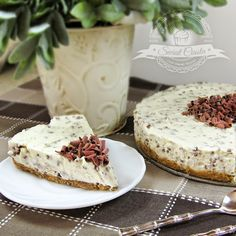 Sernik na zimno Straciatella | Świat Ciasta