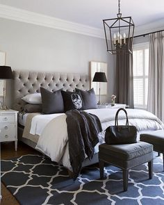 Grey Bedroom Ideas for Small Rooms . 53 Best Of Grey Bedroom Ideas for Small Rooms . Small Master Bedroom Design Ideas Tips and S Modern Bedroom, Home Bedroom, Bedroom Interior, Master Bedroom Design, Bedroom Makeover, Small Master Bedroom, Master Bedrooms Decor, Interior Design Bedroom, Awesome Bedrooms