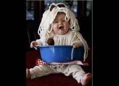 Spaghetti baby!