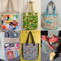 2013 Top Ten Downloadable Patterns – #6 Super Tote by Noodlehead | Pink Chalk Studio