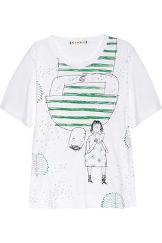 Marni Brian Rea-print cotton T-shirt NET-A-PORTER.COM