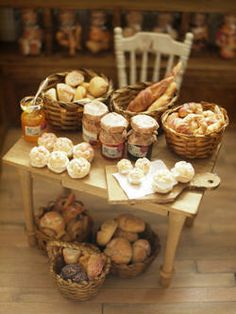 miniature breads