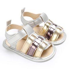 Toddler Infant Bébé à Rayures Filles Garçons Doux Prewalker Casual Coton Flats Shoes