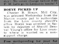 Chet Hoeye 24 Oct 1946 The Oregon Statesman