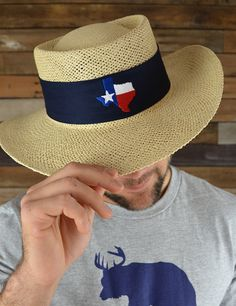 From Texas and proud of it....Whether your wearin' it for shade or as a fashion statement... You'll be look'n good!