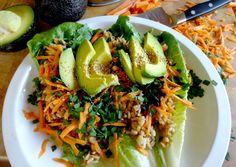 Garden Fresh Thai Wrap