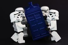 The Storm Troopers have the phone box.
