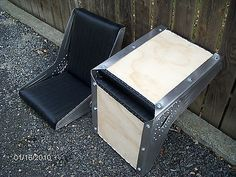 Bomber Style Seats Rotten Leonard's Jalopy Shop hot rat rod bucket riveted | Seats | Interior - Zeppy.io