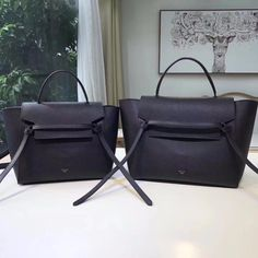 Celine Micro Belt Bag Black, Luxury, Bags & Wallets on Carousell Celine Micro, Celine Belt Bag, Black Luxury, Cloth Bags, Luxury Bags, Leather Bags, Designer Handbags, Fashion Ideas, Wallets