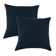 @Overstock - This set of two throw pillows features a fun textured design for a modern look. These accent pillows showcase a vivid color and luxurious American-made down-like fiber inserts that looks and feels like real feather and down, while being hypoallergenic.http://www.overstock.com/Home-Garden/Slam-Dunk-Navy-Simply-Soft-S-backed-17x17-Fiber-Pillows-Set-of-2/6971497/product.html?CID=214117 $37.39