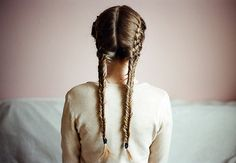double french braid fishtail