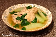 Chicken Tinola - Because sometimes I crave filipino food and I attempt to make it paleo