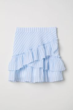 Biggest Women S Fashion Brands Women's Fashion Dresses, Skirt Fashion, Dresses Uk, Cute Summer Outfits, Cool Outfits, Womens Clothing Stores, Clothes For Women, Blue And White Skirts, Blue And White Outfits