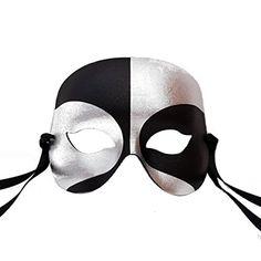 Black/Silver Robot Mens Masquerade Mask - Superior Qualit... https://www.amazon.com/dp/B01C60IKVW/ref=cm_sw_r_pi_dp_6XkKxbFVDMMWE