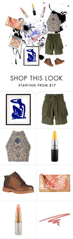 """Nude Lip"" by papillon-ze-cat ❤ liked on Polyvore featuring beauty, NLST, TFNC, MAC Cosmetics, Clarins, Lugz, Vera Bradley, NARS Cosmetics and Paul & Joe"
