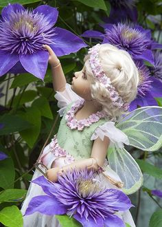 Another little flower fairy from Antique Lilac