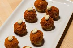 Sweet Potato Croquettes #sweetpotato #recipes #chips #crackers #entertaining