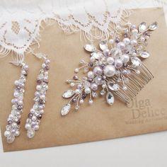 Комплект с сиреневыми нотками для невесты Светы))) #OlgaDelice