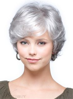 Gray Wigs African Americans Gray Root Cover Up Lavender Grey Hair Dye Lavender Grey Hair Dye Grey Hair Dye, Short Grey Hair, Short Straight Hair, Short Hair Styles, Silver Wigs, Silver Hair, Frontal Hairstyles, Wig Hairstyles, Celebrity Hairstyles