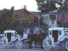 Enjoy a carriage ride around historic Frankenmuth, Michigan.
