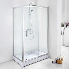 Suihkukaappi Bathlife Living 1200 A 1200x800 mm