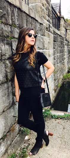 Beauties in the Burgh - black on black on black for the Fall!