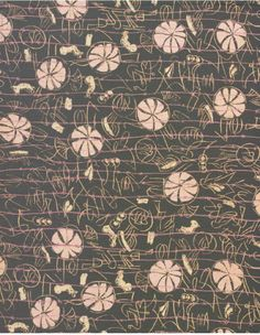I didn't know Henry Moore liked to design fabric! via patternprints journal