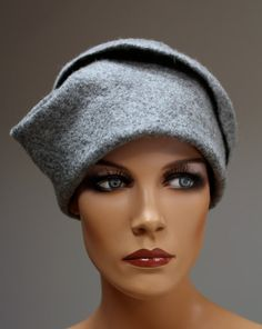LOVE this felted hat! The #etsy seller is: https://www.etsy.com/shop/doseth?ref=exp_listing