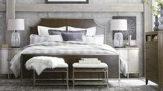 Bassett Furniture Palisades Bedroom Collection.