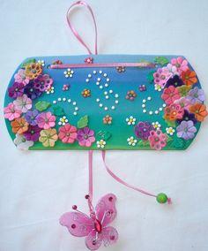 Flower Sign Board | Clayart | Flickr