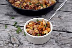 Apple, Butternut Squash & Bacon Breakfast Hash by @urbanposer #AIPaleo