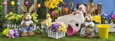 Spring & Easter are coming! Get ready with www.gandgwebstore.com Cute Bunny, Easter, Table Decorations, Spring, Easter Activities, Center Pieces
