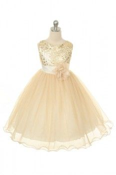 Sophie Pearl- Flower Girl Dress