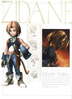 Zidane, Final Fantasy IX. One of my all time favorite characters! <3