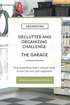 On the Decluttering and Organizing Challenge, we are creating a clutter-free home, removing everything that's on the way of creating the life you love. In the garage, we will remove all the clutter, organize what will live here and finally park your cars where they belong! Do you want to stop organizing clutter? Then, join us on the challenge and access all the free printable organizing checklists. One for each room of your home! #garage #organizing #decluttered