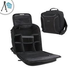 Professional SLR Camera Kit Backpack Case with Adjustable Storage for Nikon  D5500.  NikonD5500 Camera 1527802f008