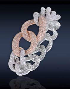 Jacob & Co - Link Pave Diamond Bracelet