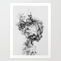 Art Prints featuring Dissolve Me by One Man Workshop