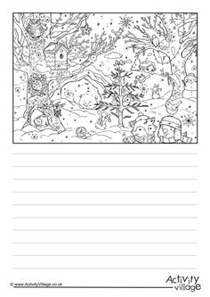 Our lovely Christmas woods story paper is bound to get the kids putting pen to paper and writing about the woodland animals enjoying Christmas! We've got lined and handwriting versions and the kids can have fun colouring in the lovely picture too! Efl Teaching, Christmas Wood, Woodland Animals, Language, Writing, Paper, Pictures, Reading, German Language