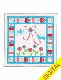 Love Song Digital Quilt Pattern from QuiltandSewShop.com