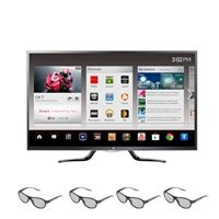 LG 55-inch LED TV 55GA6400 1080p 120HZ Smart 3D GOOGLE TV with Magic Remote QWERTY plus Voice Search and 4 3D Glasses For $1399.99 plus Free Shipping