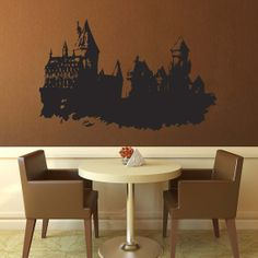 Hogwarts Castle  Harry Potter  Decal by WallsOfText on Etsy, $37.95