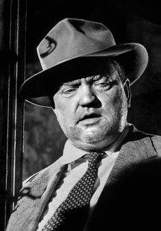 Orson Welles in 'Touch of Evil', 1958, directed by Orson Welles