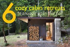 6 Cozy Eco Cabins Perfect for Snuggling Up In This Fall   Inhabitat - Sustainable Design Innovation, Eco Architecture, Green Building