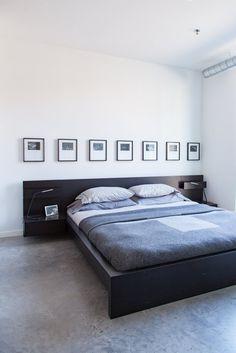 House Tour: A Black & White Minimal Minneapolis Loft | Apartment Therapy