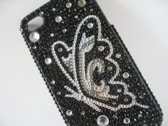 Butterfly Bling iPhone 4 Case Butterfly Bling iPhone by bitsbybets, $14.99