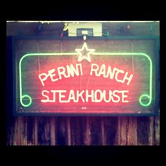 Perini Steakhouse outside of Abilene has been long ranked one of the top steakhouses in Texas. You can NOT beat a Perini's steak. My favorite is the peppered ribeye.