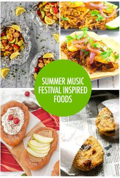 Summer Music Festival Inspired Foods Find your inner festival goer with these 6 festival recipes inspired by Wild Mountain Music Festival Canadian Food, Canadian Recipes, Food Festival, Festival Party, Summer Music Festivals, Most Popular Recipes, Good Food, Fun Food, Mountain Music